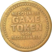 Game Token (No Cash Value; 22 mm) – obverse