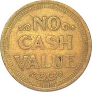 Game Token (No Cash Value; 22 mm) – reverse