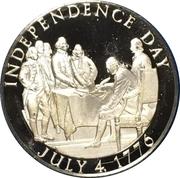 US Independence Bicentennial 1/2 oz Silver Medal – obverse