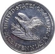 Token - US Independence Bicentennial – reverse