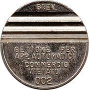 Token - Gettone Apparecchi Automatici (002; 28 mm) – obverse