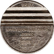 Token - Gettone Apparecchi Automatici (002; 28 mm) – reverse