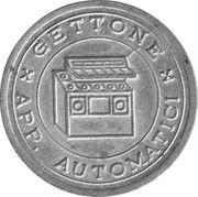 Jukebox Token - Gettone Apparecchi Automatici (Union Sport) – reverse