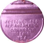 Token - Gettone Apparecchi Automatici (124; K) – obverse