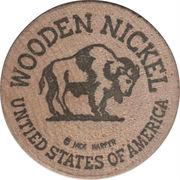 Wooden Nickel - Freeman Products (Jackson, Miss.) – reverse