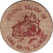 Token - Historic Village of Long Grove, Illinois – obverse