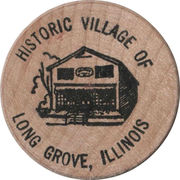 Token - Historic Village of Long Grove, Illinois – reverse