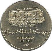 Token - Grand Hotel Europa (Innsbruck) – obverse