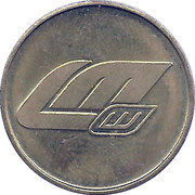 Car Wash Token - LM Leiker-Moser – obverse
