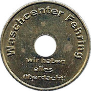 Car Wash Token - Waschcenter Fehring – obverse