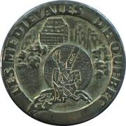 Token - Banque Nationale (Medieval of Quebec) – obverse