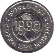 Token - FIFA World Cup 1990 (England) – reverse