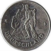 Token - FIFA World Cup 1990 (Germany) – obverse