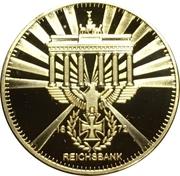 Replica - Reichsbank 1872 – obverse