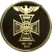 Replica - Reichsbank 1872 – reverse