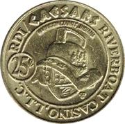 25 Cents - Caesars Riverboat Casino – reverse