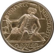 New Year Lucky Token (Prosit Neujahr) – obverse