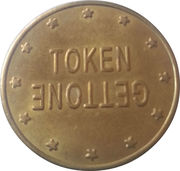 Token - Gettone (26 mm) – obverse