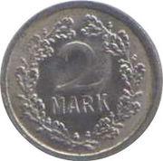 2 Mark (Spielgeld; with bird) – reverse
