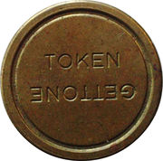 Token - Gettone – obverse