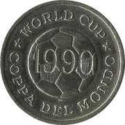 Token - FIFA World Cup 1990 (Romania) – reverse