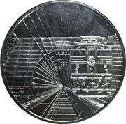 Token - Seikan Tunnel – obverse