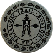 Token - The Freedom Trail Boston – reverse