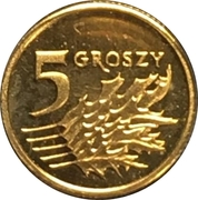 5 Groszy (Special Small Issue) – reverse
