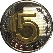 5 Złotych (Special Small Issue) – reverse