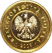 2 Złote (Special Small Issue) – obverse