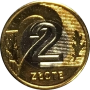 2 Złote (Special Small Issue) – reverse