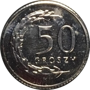 50 Groszy (Special Small Issue) – reverse