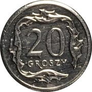 20 Groszy (Special Small Issue) – reverse