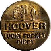 Token - Herbert Hoover Presidential Campaign – obverse