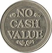 Carwash Token (No Cash Value; 25 mm) – reverse