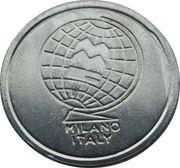Token - MMC Milano Italy (2 grooves) – obverse