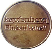 Parking Token - Kapfenberg Municipal – reverse