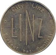 Parking Token - Linz (Brass) – reverse