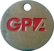 Shopping Cart Token - GPA – obverse