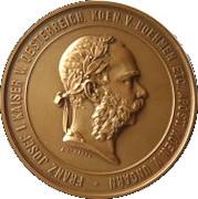 Token - Franz Joseph I (2nd of December 1873) – obverse