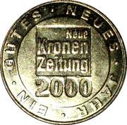Token - Neue Kronen Zeitung 2000 – reverse