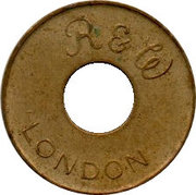 Token - R&W London (No Cash Value) – obverse