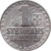 1 Stephansgroschen (Wien) – reverse