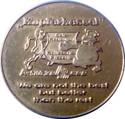 Token - Kapferkessel Cafe and Restaurant – obverse