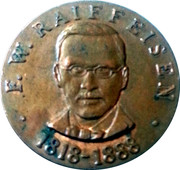 Token - Raiffeisen (100 years in Austria) – obverse