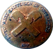 Token - Raiffeisen (100 years in Austria) – reverse