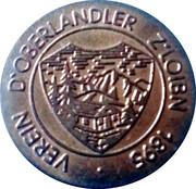 Token - Verein D'Oberlandler Z'Loibn 1895 – obverse