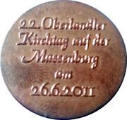 Token - Verein D'Oberlandler Z'Loibn 1895 – reverse