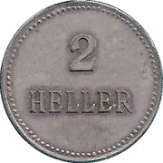2 Heller - Alt-Nagelberg Restauration – reverse
