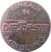Token - Meidling (100 years) – reverse